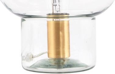 House Doctor Kast : House doctor tischlampe mush cm glas kupfer e